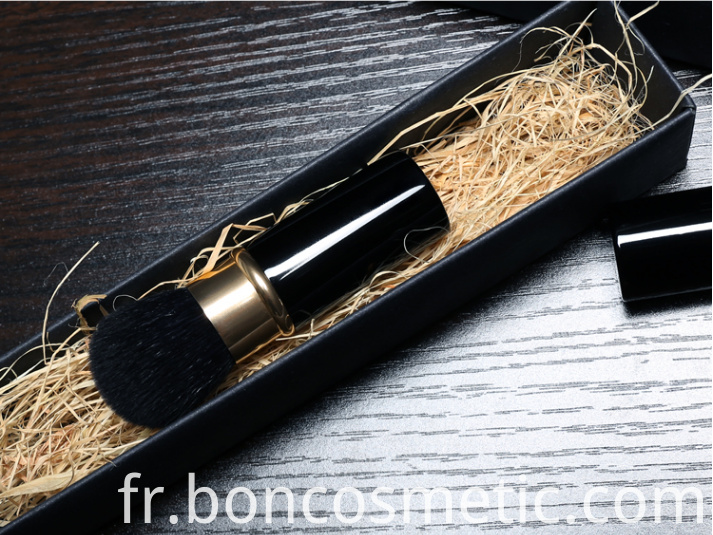 retractable face brush