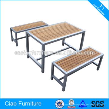 Commercial furniture wooden bar set