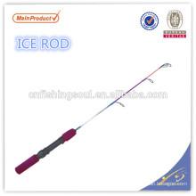 ICR058 caña de pescar de grafito caña de pescar en blanco weihai oem caña de pescar en el hielo
