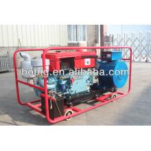 Одноцилиндровый дизель-генератор с водяным охлаждением