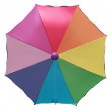 Модный мультяшный зонтик Радуга прямой зонтик