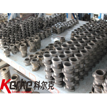 Co-rotating parallel twin screw extruder plastic Screw Element
