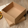 Kraft paper gift packaging box