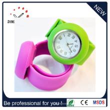 Mode Silikon Armband Quarz Handgelenk Schlag Uhr (DC-083)