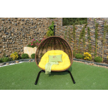 Top selling Poly Rattan Double Swing Chair or Hammock For Outdoor Garden