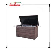 High Quality Pe Rattan/Wicker Cushion Storage Box