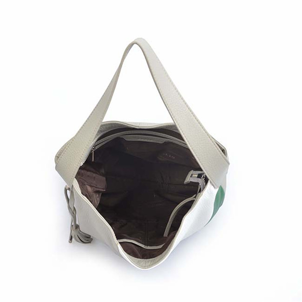 2019 fashion soft genuine cowhide leather handbag lady hobo bag