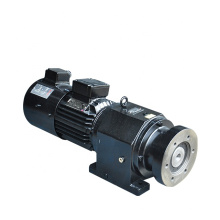 380V 50HZ manufacturer R series helical gear reducer with electric motor
