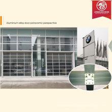 Custom Full View Insulated Glass Garage Door, Commerical Aluminium Alloy Shutter Garage Door