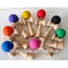 Buche Holz Gummi Farbe Kendama zum Verkauf