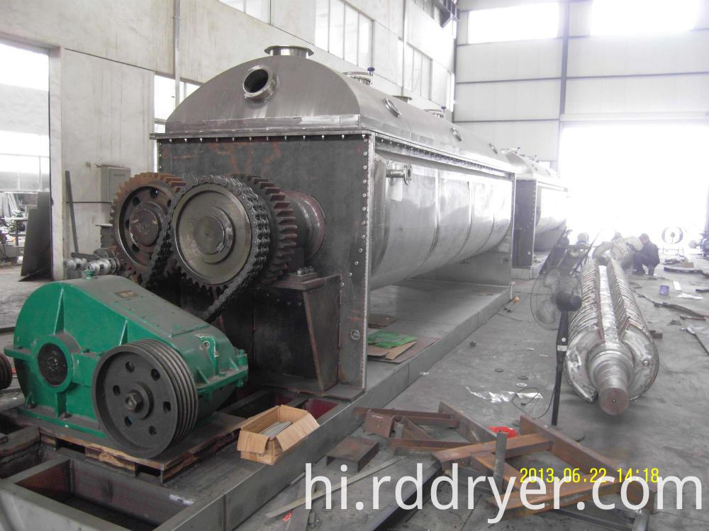 KJG Series Hollow Paddle Dryer with Good Quality