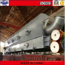 Secador de leito fluidizado vibratório de carvão ativado
