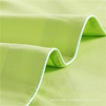 Tela de la ropa de cama de la raya para el hotel