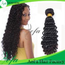 Neues Produkt 100% unverarbeitete Menschenhaar Remy Reine Haarverlängerung