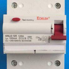 Disyuntor de corriente residual de 100A 240V