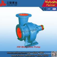 Bomba de água centrífuga de fluxo misto horizontal Hw-Series