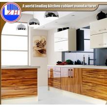 Muebles de cocina de la puerta del gabinete del alto brillo (modificado para requisitos particulares)