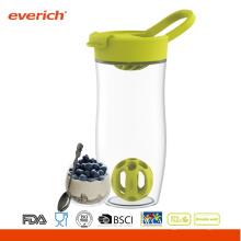 Everich 24oz BPA-freie Tritan einfach tragen Shaker Flasche