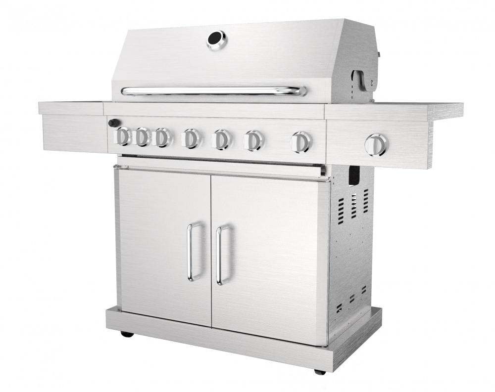 Stainless Steel Gas Grill Barbecue