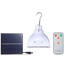 Camping Solar LED Lighting Bombilla para mercados rurales