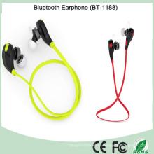 Deportes del auricular de Bluetooth del precio de fábrica de China con el micrófono para el iPhone (BT-1188)