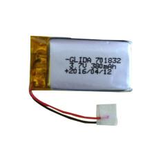 Mini Li-polymer 303450 500mAh 3.7V Battery for earphone