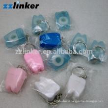 Tooth Shape dental crafts Dental Floss Key Chain