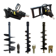Fence Post Hole Digger Hydraulic Earth Auger for Excavator Used