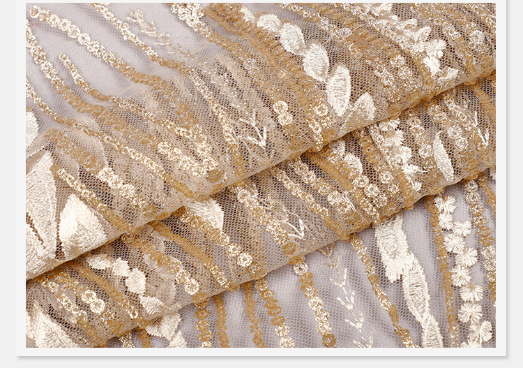 Light Color Lace Fabric