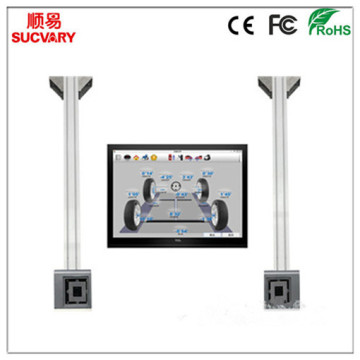 3D Wheel Alignment with Remote Automatic