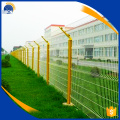 High security powder coated 3D fence panel