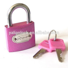 Arc type pin mechanism colorful padlock
