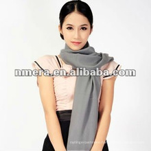 Guarantee supper fine pure wool woman scarf-SWW384-G