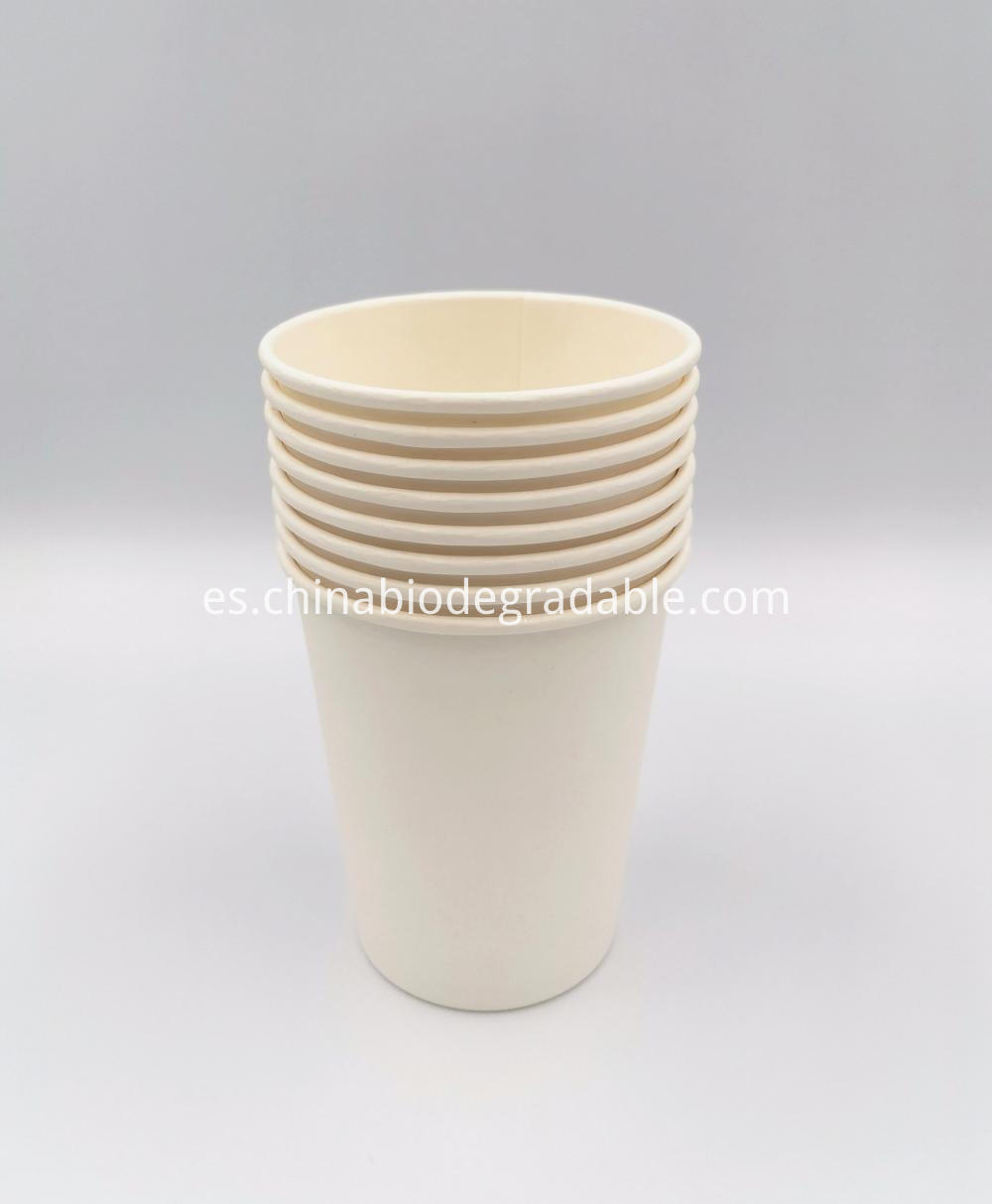 100% Biodegradable Coffee Paper Cup