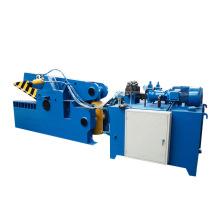 Machine de cisaillement automatique de ferraille de tube en aluminium