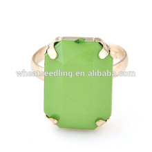 2014 New personalised fashion square stone ring