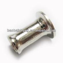 Best quality newest brass color engraved rivet