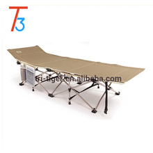 Outdoor Portable Military Folding Camping Bed Cot Sleeping Hiking Travel Metal Folding Bed