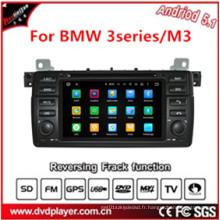Quad Core Hla8788 Lecteur DVD de voiture avec lecteur MP3 / 4, 3G / 4G, WiFi Bt pour BMW E46 / M3 GPS Navi