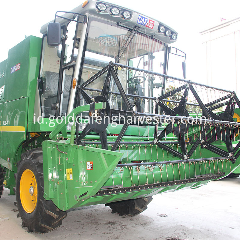 Wheat harvester
