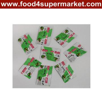 2.5g 3G 5g 10g Kleine Verpackung Wasabi Paste
