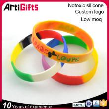 Hot sale delicate custom woven wristbands