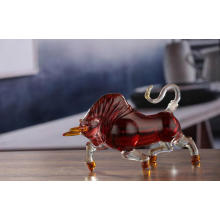 Bull shaped Home Wine, Liquor and Whiskey Decanter Glass