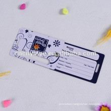 clear GPS Air luggage tags