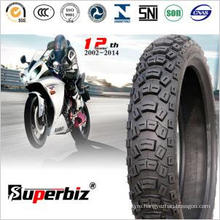 Motorcycle Rubber Tubeless Tyre (110/100-18) for Hard Terrain