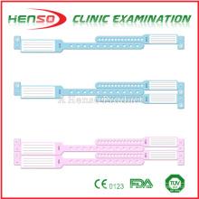 Pulseiras de plástico de identificação médica HENSO