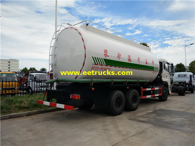 Dry Powder Tanker Trucks