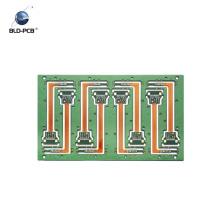 PWB rígido de la capa blanca de la serigrafía HAL de cuatro capas, PCB automotriz para los sistemas de control del motor