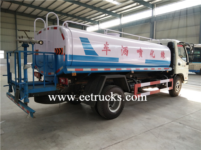 6000L Sprinkling Water Tank Trucks