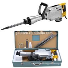 65mm 1520w Mini Demolition Breaker Hammer Hand Held Portable Electric Power Rock Drill Breaker